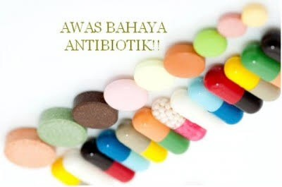 bahaya antibiotik